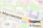 Схема проезда до компании Брусбокс-НН в Нижнем Новгороде