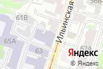 Схема проезда до компании Нижегородский государственный архитектурно-строительный университет в Нижнем Новгороде