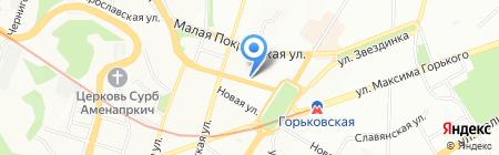 Брусбокс-НН на карте Нижнего Новгорода