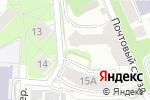 Схема проезда до компании Новстройтех в Нижнем Новгороде