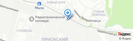 Альта Профиль-НН на карте Нижнего Новгорода