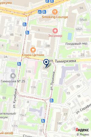 АТЕЛЬЕ ПО РЕМОНТУ ТЕЛЕВИЗОРОВ ЭЛЕКТРОНИК на карте Заволжья