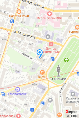 Дом 51 по ул. Новая, ЖК Центр на Яндекс.Картах