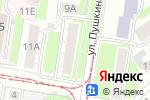 Схема проезда до компании Татьянин день в Нижнем Новгороде
