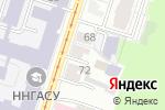Схема проезда до компании Адвокатский кабинет Самойлова А.О. в Нижнем Новгороде