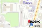 Схема проезда до компании Тепло в Нижнем Новгороде