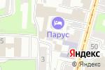 Схема проезда до компании Бермудский треугольник в Нижнем Новгороде