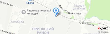 Браво Софт на карте Нижнего Новгорода