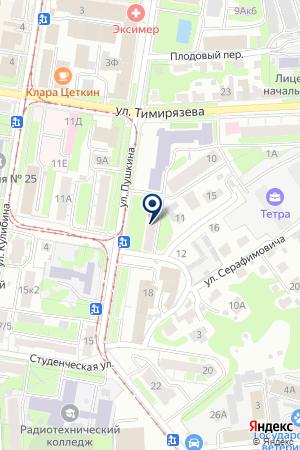 КОСМЕТИЧЕСКИЙ КАБИНЕТ на карте Заволжья