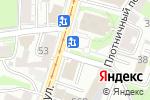 Схема проезда до компании Смак в Нижнем Новгороде