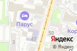 Схема проезда до компании Ultramarin Tattoo в Нижнем Новгороде