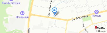 Ласточкин Дом на карте Нижнего Новгорода