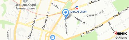 Славдом на карте Нижнего Новгорода