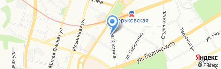Карамель на карте Нижнего Новгорода