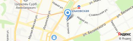Компонент на карте Нижнего Новгорода