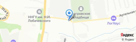 36.7 на карте Нижнего Новгорода
