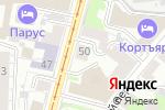 Схема проезда до компании ДЭУ ЭНЕРТЕК РУС в Нижнем Новгороде