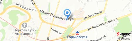 Платежный терминал БИНБАНК кредитные карты на карте Нижнего Новгорода
