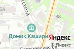 Схема проезда до компании Античный мир в Нижнем Новгороде