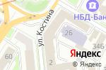 Схема проезда до компании Кондос в Нижнем Новгороде