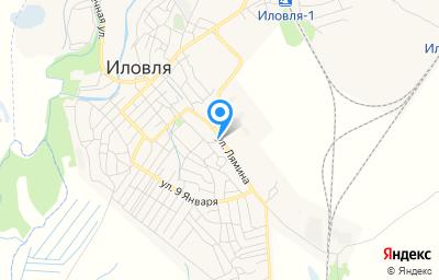 Местоположение на карте пункта техосмотра по адресу Волгоградская обл, рп Иловля, ул Лямина, д 38А