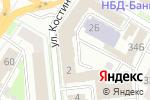 Схема проезда до компании Юмис в Нижнем Новгороде