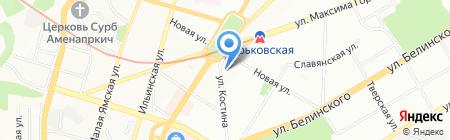 Леся на карте Нижнего Новгорода