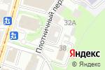 Схема проезда до компании Positive в Нижнем Новгороде