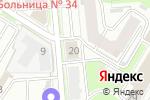 Схема проезда до компании ЮниКредит Банк в Нижнем Новгороде