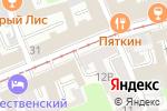 Схема проезда до компании BARRYMORE gastropub в Нижнем Новгороде