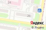 Схема проезда до компании Почта Банк в Нижнем Новгороде