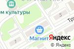 Схема проезда до компании Магазин продуктов в Золотово
