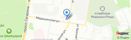 Почтовое отделение №104 на карте Нижнего Новгорода