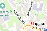 Схема проезда до компании Парвати в Нижнем Новгороде