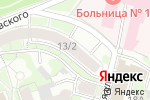 Схема проезда до компании Luxury home в Нижнем Новгороде