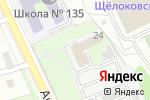 Схема проезда до компании АРИС в Нижнем Новгороде