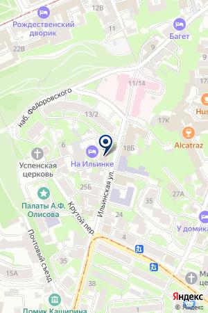 ТЕРЕМ на карте Нижнего Новгорода