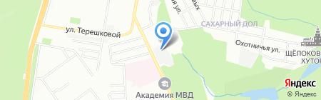 ОРМИС-М на карте Нижнего Новгорода