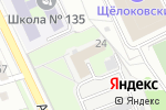 Схема проезда до компании АВМ Сервис в Нижнем Новгороде