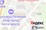 Схема проезда до компании Courtyard by Marriott Nizhny Novgorod City Center в Нижнем Новгороде