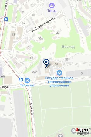 ТФ СИРЕНА на карте Нижнего Новгорода