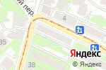 Схема проезда до компании Цветы на Добролюбова в Нижнем Новгороде