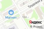 Схема проезда до компании Неклюдовский территориальный отдел в Золотово