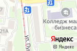 Схема проезда до компании Венера в Нижнем Новгороде