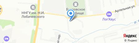 Любимая пара на карте Нижнего Новгорода