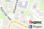 Схема проезда до компании Риск в Нижнем Новгороде