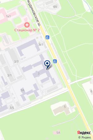 ГОУ НИЖЕГОРОДСКАЯ АКАДЕМИЯ МВД РФ на карте Нижнего Новгорода