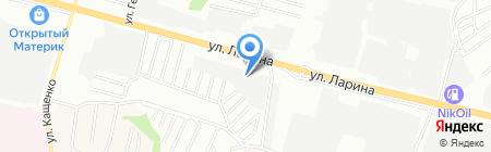 Арго на карте Нижнего Новгорода