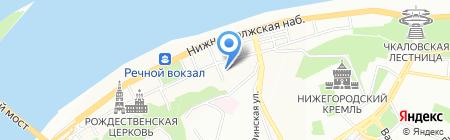 Pro-Multimedia на карте Нижнего Новгорода
