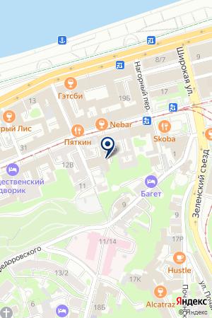 МАСТЕРСКАЯ на карте Нижнего Новгорода